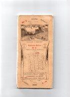 CARTE MICHELIN De LA FRANCE. N°3.AMIENS -ARRAS  Du Nord Au Sud Toilée. 1914-1918 VOIR SCANNES - Cartes Routières