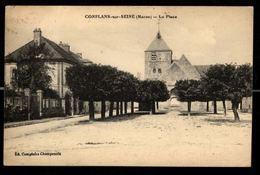 51 - CONFLANS SUR SEINE (Marne) - La Place - France