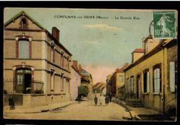 51 - CONFLANS SUR SEINE (Marne) - La Grande Rue - France
