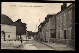 51 - CONFLANS SUR SEINE (Marne) - Rue Isidore Robequin - Frankrijk