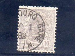 LUXEMBOURG 1880 O - 1859-1880 Armoiries
