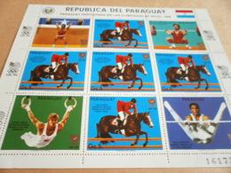 Sheetlet Paraguay 1986 Seoul Olympics 1988 - Paraguay
