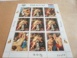 Sheetlet Paraguay 1985 Rubens - Paraguay