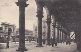 MILANO-PIAZZA MERIDIONALI-CARTOLINA NON VIAGGIATA -ANNO 1910-1920 - Milano