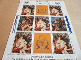 Sheetlet Paraguay 1986 Rubens - Paraguay