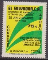 El Salvador Turismo Set MNH - Vacanze & Turismo
