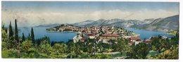 1927 YUGOSLAVIA, CROATIA, CAVTAT, LONG ILLUSTRATED POSTCARD, 27 X 9 Cm, NOT FOLDED, DAMAGED, NOT USED - Yugoslavia