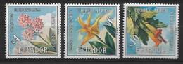ECUADOR 1972 Flowers - Altri