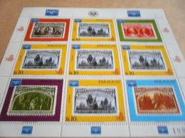 Sheetlet Paraguay 1986 Ameripex - Paraguay