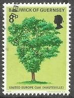 1975 Victor Hugo, 8p, Used - Guernsey