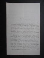COURRIER AUTOGRAPHE (V1907) CHARLES LOYSON Dit PèRE HYACINTHE (4 Vues) 25 Juillet 1870 - Autographes