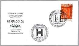 Periodico - Newspaper - Journal - HERALDO DE ARAGON. SPD/FDC Zaragoza, Aragon, 2004 - Otros