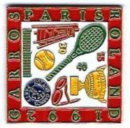 T14 - ROLAND GARROS PARIS 1992 - Verso : SM - Tennis