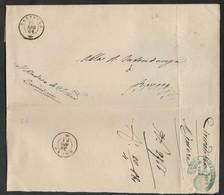 DA CEDEGOLO A BRENO - 10.4.1861. - Marcophilia