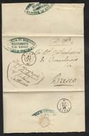 DA EDOLO A BRENO - 24.2.1861. - Marcophilia