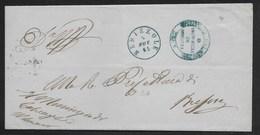 DA BEDIZZOLE A BRESCIA - 5.11.1865. - Marcophilia