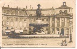 L120B279 - Bordeaux - La Fontaine Des 3 Grâces Et L'Hotel De La Bourse - Ranajou N°36 - Bordeaux