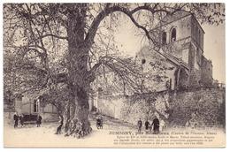 Aisne Jumigny Par Beaurieux L église Tilleul Arbre Remarquable - France