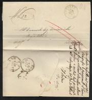 DA ALBIOLE A BRESCIA - 10.1.1861. - Marcophilia