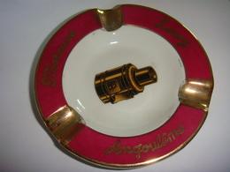 Cendrier Céramique  Porcher  Moteurs Leroy Angouleme - Porcelaine