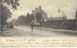 LA PANNE : Le Chemin - Nels Série 80 N° 68 - Courrier De 1902 - De Panne