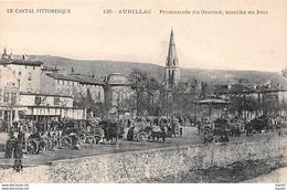 AURILLAC - Promenade Du Gravier, Marché Au Bois - Très Bon état - Aurillac