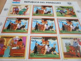 Sheetlet Paraguay 1985 Tom Saywer - Paraguay
