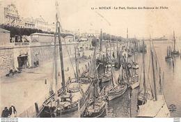 ROYAN - Le Port, Station Des Bateaux De Pêche - Très Bon état - Royan