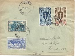 Lettre Affranchie Cameroun - Cameroun (1915-1959)