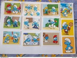 Lot Plus De 200 Vignettes Individuelles Panini Schtroumpf -Smurf - Schtroumpfs