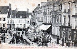 HAZEBROUCK  Cortège Historique, Le Char De La Comtesse Yolande - Hazebrouck