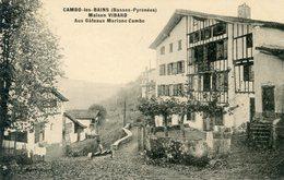 64  CAMBO LES BAINS  MAISON  VIBARD  AUX GATEAUX  MARIANE CAMBO - Cambo-les-Bains