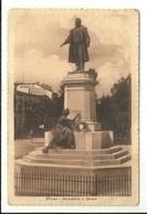 """3945 """" MILANO-MONUMENTO A CAVOUR """" PUBBLICITA' SUOLE PIRELLI - CARTOLINA POSTALE ORIGINALE SPEDITA 1927 - Milano (Milan)"""