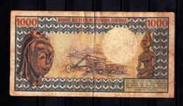 Cameroun,- 1000 Francs. Banque De Etats De L'Afrique Centrale.  L15 - Cameroon