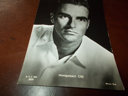 B726   Montgomery Clift Non Viaggiata - Attori
