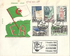 Lettre Affranchie 1er Jour Algérie - Algérie (1962-...)