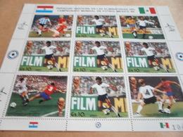 Sheetlet Paraguay 1986 Football World Cup - Paraguay