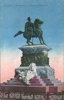 "3947 ""MILANO-MONUMENTO A VITTORIO EMANUELE II"" CARTOLINA POS. ORIG. SPED. 1916 - Milano (Milan)"