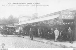 Exposition Automobile Agricole De BOURGES - Stand De La CIMA - Tracteurs Automobiles - Picandet - Très Bon état - Bourges