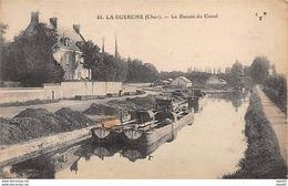 LA GUERCHE - Le Bassin Du Canal - Très Bon état - La Guerche Sur L'Aubois