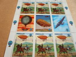 Sheetlet Paraguay 1983 Balloon Flight - Paraguay