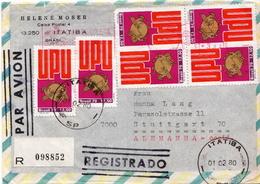 Postal History Cover: Brazil Stamps On 2 Covers - U.P.U.