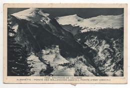ALBANETTE - C/ St Jean De Maurienne - Pointe Des Sollanches Et Pointe D'Emy - Sonstige Gemeinden