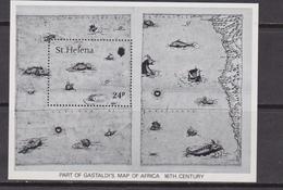 St. Helena 1982 Map Set MNH - Geografia