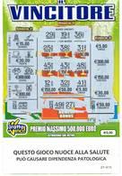 GRATTA E VINCI   - IL VINCITORE DA €5.00 - USATO (SERIE STELLA NUOCE ALLA SALUTE) - Biglietti Della Lotteria