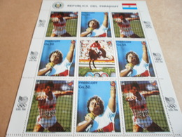 Sheetlet Paraguay 1987 Seoul Olympics 1988 - Paraguay