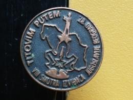 List 106 - SCOUT, SCOUTING, TITOVIM PUTEM, BEOGRAD 1987, SERBIA - Associazioni