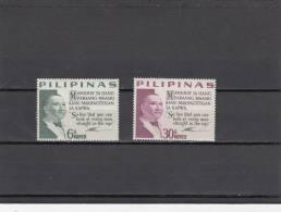 Filipinas Nº 609 Al 610 - Filipinas