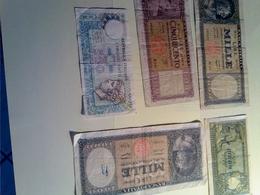 Lot De 5 Billets D'Italie - [ 2] 1946-… : República