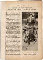 VP14.969 - Sports - Extrait De La Revue La Science Et La Vie : Le Moto Tracteur & Quelques Aspects Du Circuit De LYON - Books